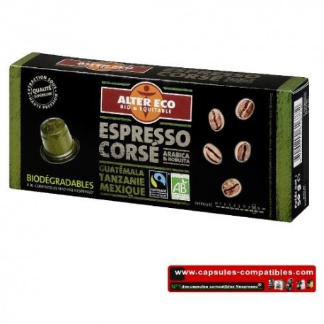alter eco bodied fair bio capsules compatible nespresso