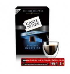 Decaf Carte Noire, Compatible with Nespresso ®.