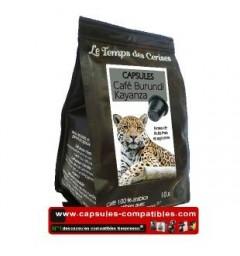 Coffee Coffee capsules Burundi Kayanza The Time of Cherries