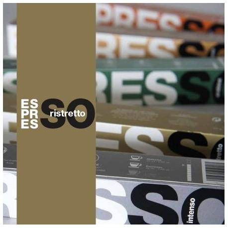 il Ristretto, capsules Brown Espresso, compatibles Nespresso ®