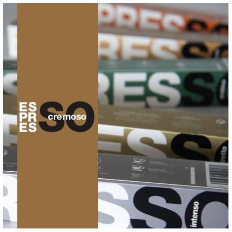 Capriccio, Brown Espresso capsules compatible Nespresso ®