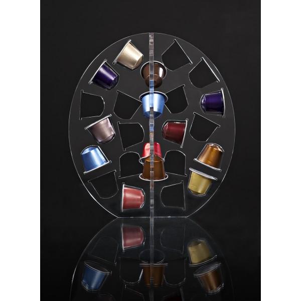 support design capsules nespresso ovale. Black Bedroom Furniture Sets. Home Design Ideas