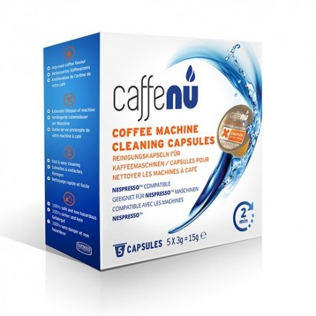 Nettoyer sa Nespresso avec Caffenu (boite de 5 capsules)