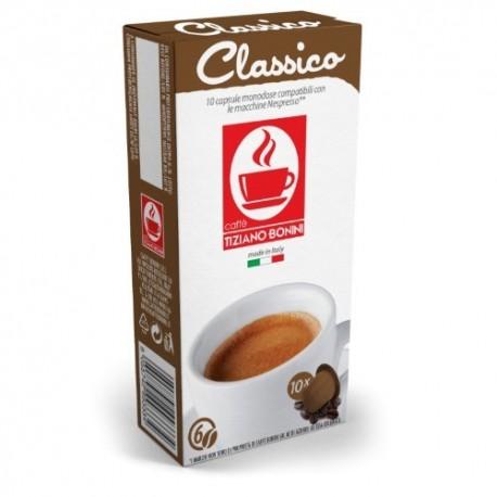 Classico capsules Caffè Bonini compatibles Nespresso ®