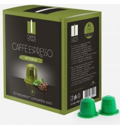 Capsules Caffè Ottavo Intenso compatibles Nespresso ®