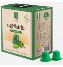Capsules Café Vert Bio compatibles Nespresso®