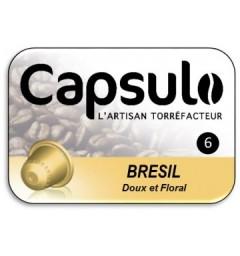Capsulo Brésil compatibles Nespresso