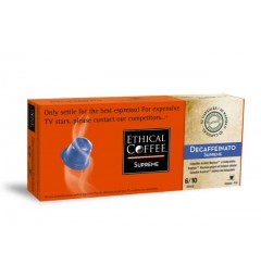 Decaffeinato SUPREME by Ethical coffee, Nespresso® compatible.