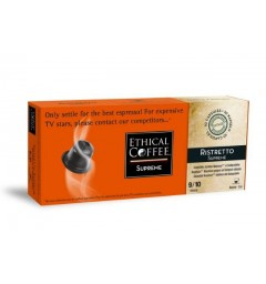 Ristretto SUPPREME capsules Ethical-coffee compatibles Nespresso ®