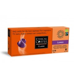 Lungo by Ethical coffee, Nespresso® compatible and biodegradable.