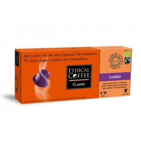 Lungo Ethical Coffee capsules biodégradables