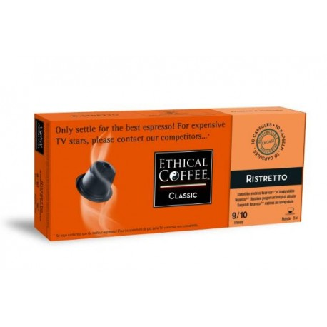 Ethical Coffee Ristretto compatibles nespresso