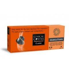 Ethical Coffee, Biodegradable Arabica Forte.