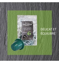 Force 6 by Maison TAILLEFER Nespresso® compatible capsules.