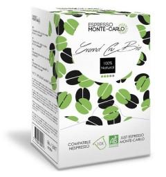 Espresso Monte-Carlo Grand Cru BIO, capsules compatibles Nespresso ®