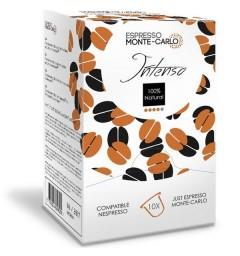 Espresso Monte-Carlo Intenso, capsules compatibles Nespresso ®