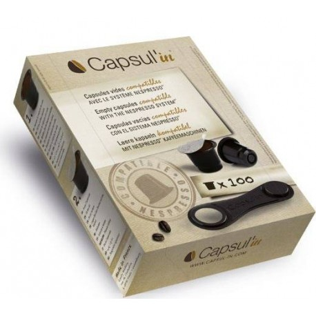 Capsul In Capsules compatibles Nespresso®