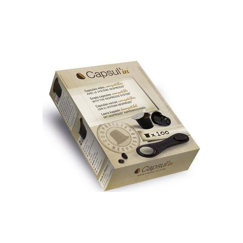 capsul in capsules compatibles nespresso. Black Bedroom Furniture Sets. Home Design Ideas
