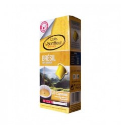 Capsules Brésil compatibles Nespresso ® Le Bonifieur