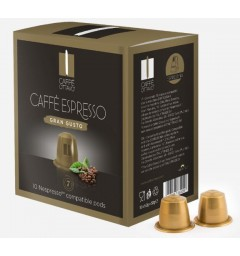 Capsules Gran Gusto compatibles Nespresso ® Caffè Ottavo