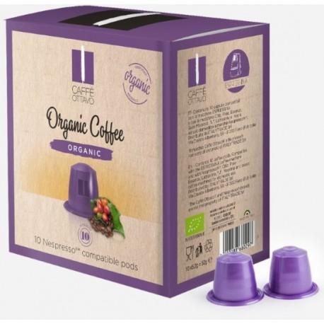Capsules Caffè Bio Ottavo compatibles Nespresso ®