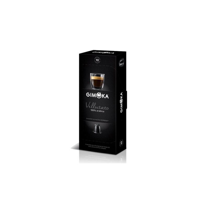 gimoka vellutato compatible nespresso capsules