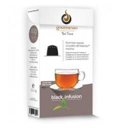 Black Infusion capsules de Thé pour Nespresso ® de Gourmesso