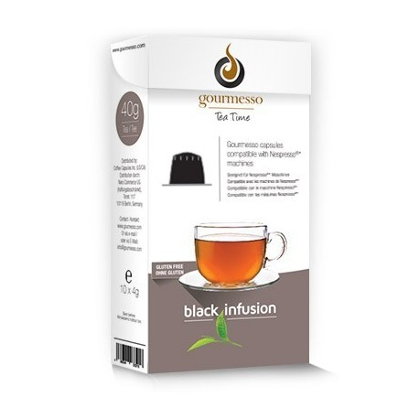 Black Infusion Tea Capsules for Nespresso