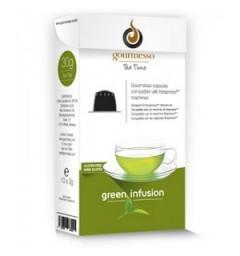 Capsules de Thé Green Gunpowder pour Nespresso ® de Gourmesso