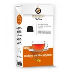 Capsules de Thé Rooibos et vanille pour Nespresso ® de Gourmesso