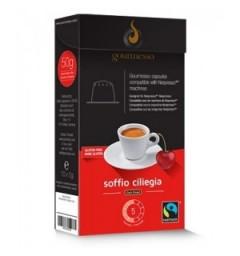 Nespresso-compatible cherry flavor capsules