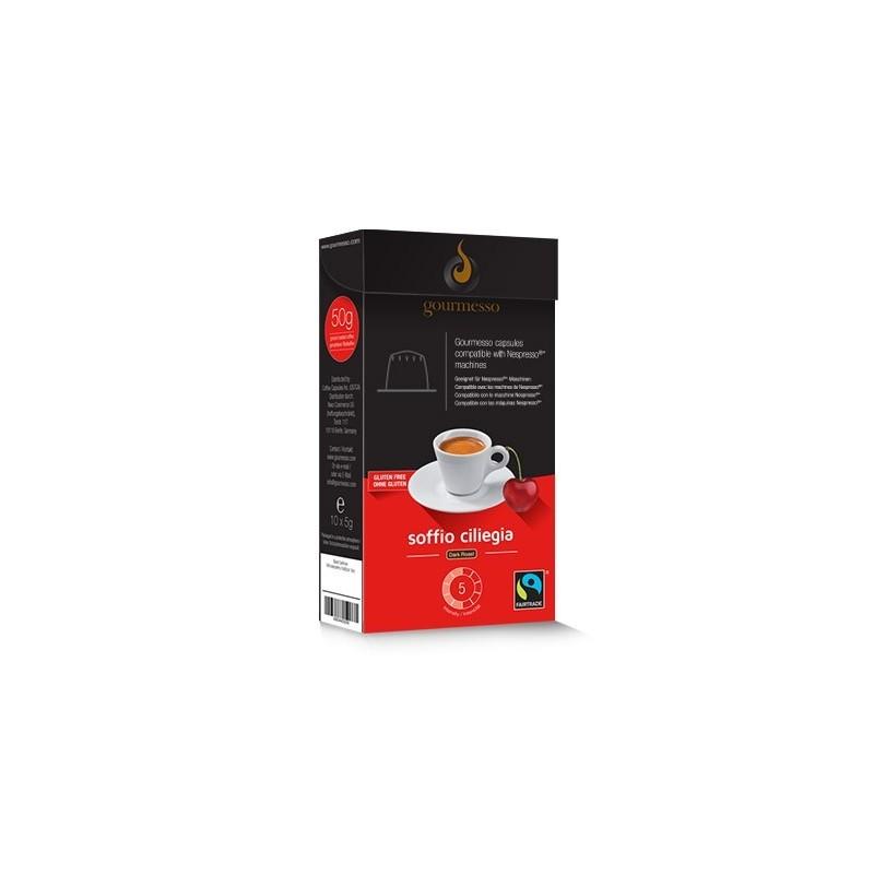 capsules flavored cherry  nespresso