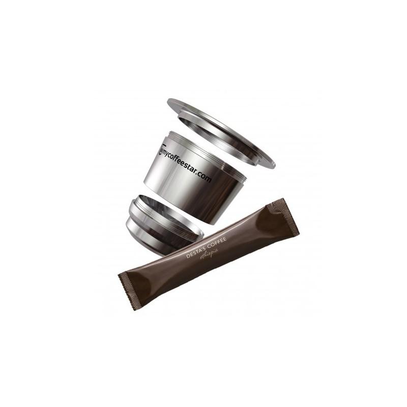 mycoffeestar set delta compatibles nespresso. Black Bedroom Furniture Sets. Home Design Ideas