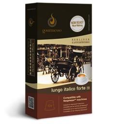 Capsules compatibles Lungo Italien Forte pour Nespresso ® de Gourmesso
