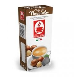 Capsules arôme Noisette compatibles Nespresso ® Caffè Bonini