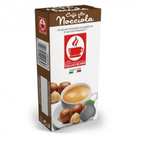 Capsules arôme Noisette Caffè Bonini compatibles Nespresso ®