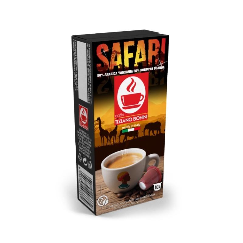 capsules compatibles nespresso safari. Black Bedroom Furniture Sets. Home Design Ideas