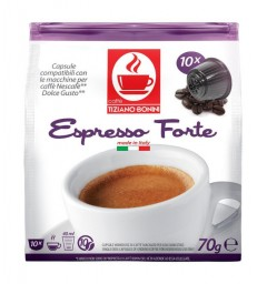 Capsules Forte Dolce Gusto ® compatible.