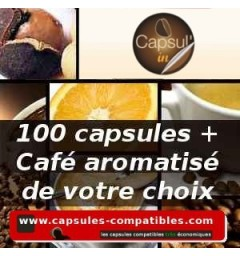 Pack 100 Capsul'in Freedom