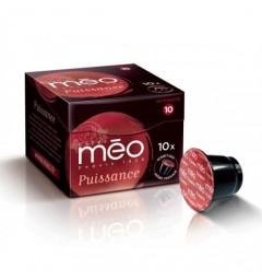 Capsules Puissance compatibles Nespresso ® des cafés Méo