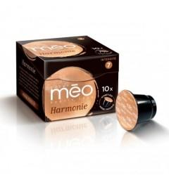 Capsules Harmonie compatibles Nespresso ® des cafés Méo