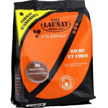 Dosettes Riches et Corsées compatibles Senseo ® de Café Launay