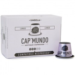 Cap-Mundo Umbila Nespresso® compatible capsules.