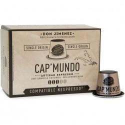 Don Jimenez capsules compatibles Nespresso ® Cap Mundo