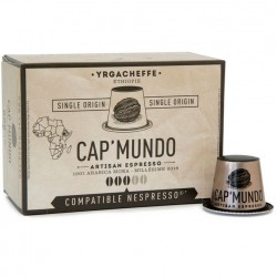 Cap-Mundo Yrgacheffe Nespresso® compatible capsules.