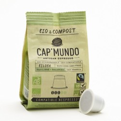 Cap Mundo, Biloba capsules Bio compatibles Nespresso ®