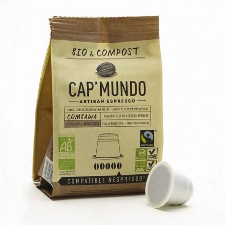 Cap Mundo, Combawa capsules Bio compatibles Nespresso