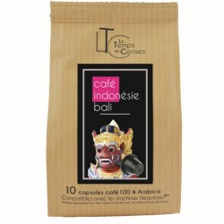Indonésie Bali capsules compatibles Nespresso ®
