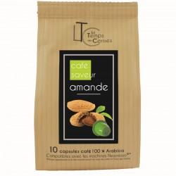 Capsules arôme amande compatibles Nespresso ®