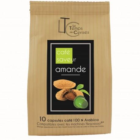 Hazelnut flavour by Maison TAILLEFER Nespresso® compatible capsules.
